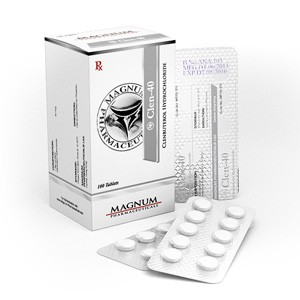 Magnum Clen-40 myytävänä osoitteessa anabol-fi.com Suomessa | Clenbuterol hydrochloride Verkossa