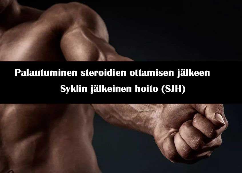 Palautuminen steroidien ottamisen jälkeen Syklin jälkeinen hoito (SJH)