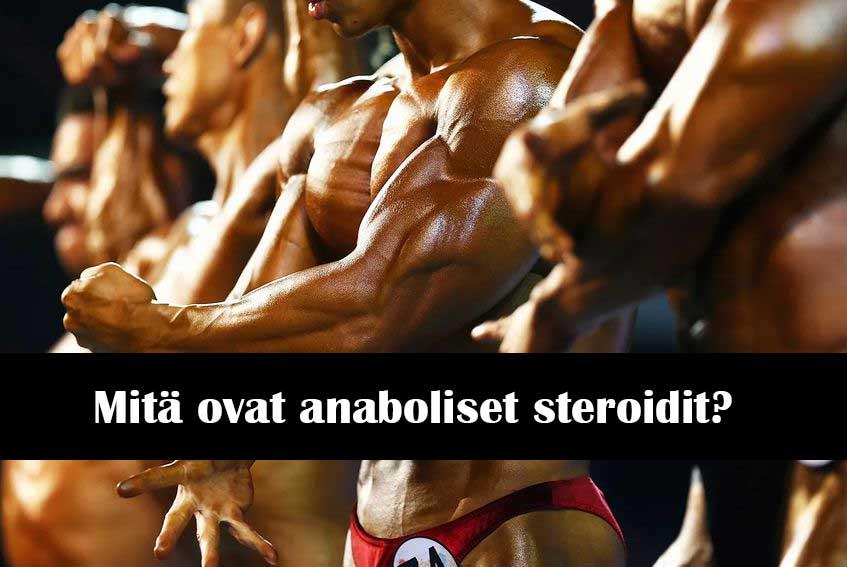 Mitä ovat anaboliset steroidit?