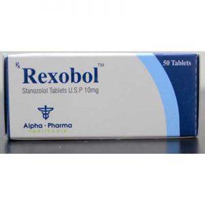 Rexobol-10 myytävänä osoitteessa anabol-fi.com Suomessa   Stanozolol Verkossa